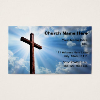 Church Business Cards