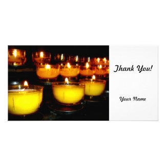 Church Candles Photo Cards