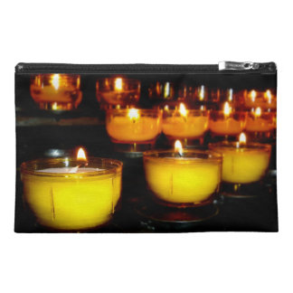 Church Candles Travel Accessory Bags