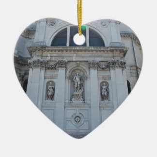Church Ceramic Heart Decoration