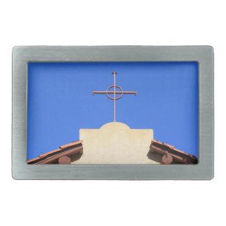 Church Cross Belt Buckle