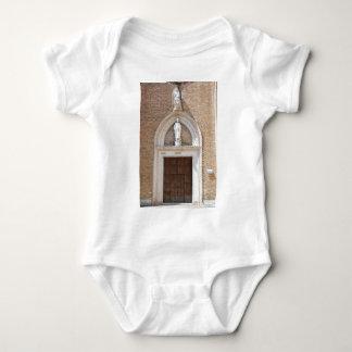 Church door baby bodysuit