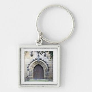 Church door key ring