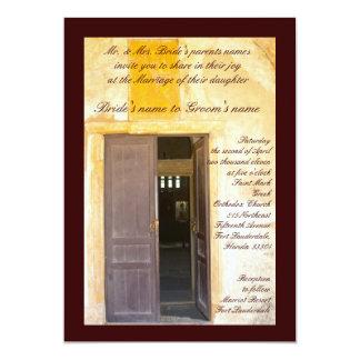 Church Doors Invites