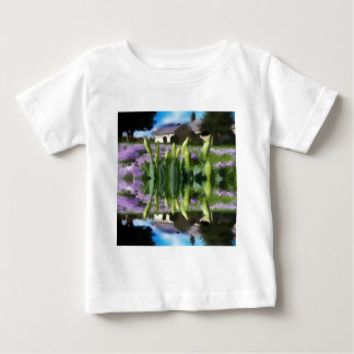 Church flowers in reflection baby T-Shirt