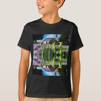 Church flowers in reflection T-Shirt