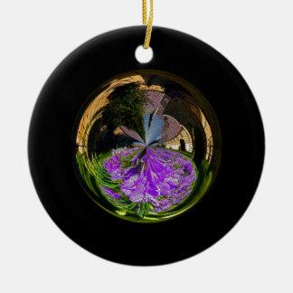 Church Globe Christmas Ornament