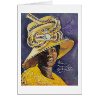 Church Hat Nica Card