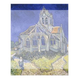 Church in Auvers-sur-Oise by Vincent Van Gogh 11.5 Cm X 14 Cm Flyer