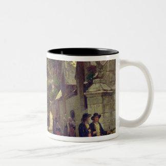 Church in Brittany Two-Tone Coffee Mug