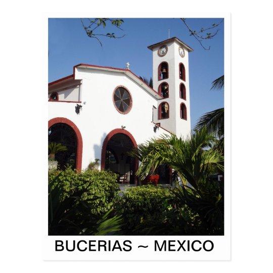 Church in Bucerias Centro Mexico Postcard