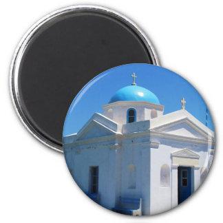 Church in Mykonos Magnet
