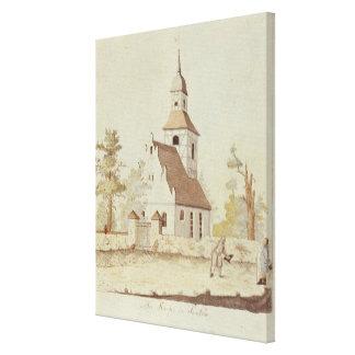 Church in Pankow, Berlin Canvas Print