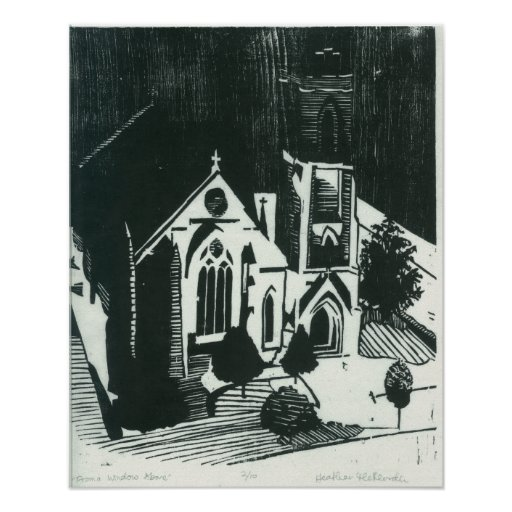 CHURCH in PHILLY Print