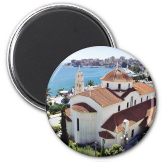 Church In Sarande In Albania. Magnet