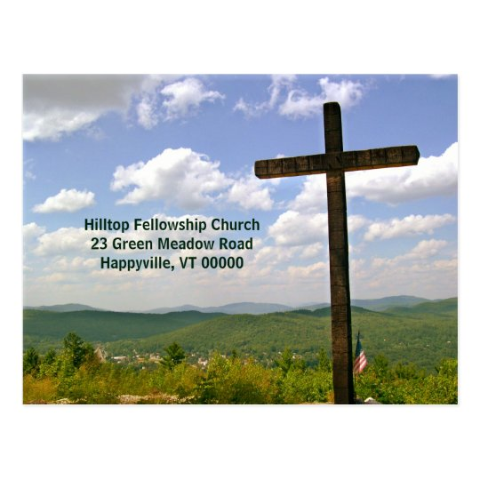 Church Mailer Easter Service Invitation Postcard