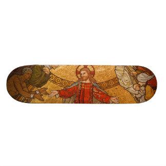 Church Mosaic - Jesus Christ 21.6 Cm Old School Skateboard Deck