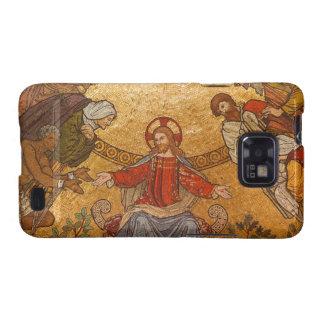 Church Mosaic - Jesus Christ Samsung Galaxy SII Cases