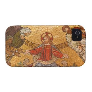 Church Mosaic - Jesus Christ Vibe iPhone 4 Cover