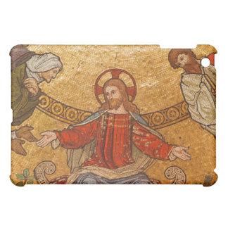 Church Mosaic - Jesus Christ iPad Mini Cases