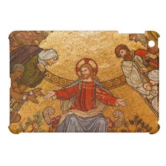 Church Mosaic - Jesus Christ iPad Mini Covers