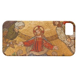 Church Mosaic - Jesus Christ iPhone 5 Cases