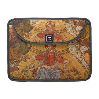 Church Mosaic - Jesus Christ Sleeves For MacBook Pro