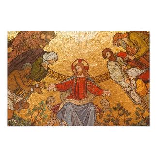 Church Mosaic - Jesus Christ Photo Art