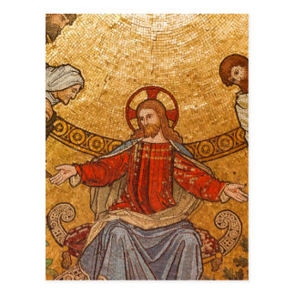 Church Mosaic - Jesus Christ Postcard