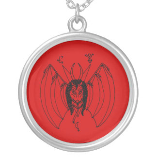 Church of Ahriman Amulet Silver Plated Necklace
