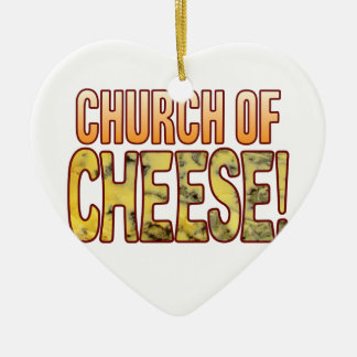 Church Of Blue Cheese Christmas Ornament