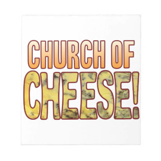Church Of Blue Cheese Notepad