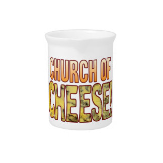 Church Of Blue Cheese Pitcher
