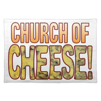 Church Of Blue Cheese Placemat