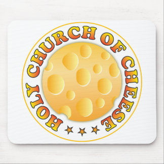Church Of Cheese Mouse Mat