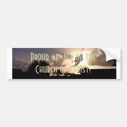 Church of Christ Bumper Sticker