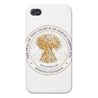 CHURCH OF GOD IN CHRIST SEAL3 CASE FOR THE iPhone 4