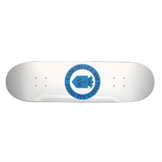 Church Of I Am Custom Skate Board