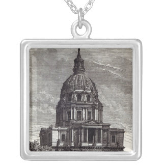 Church of Invalides, containing Tomb of Silver Plated Necklace