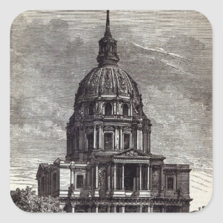Church of Invalides, containing Tomb of Square Sticker