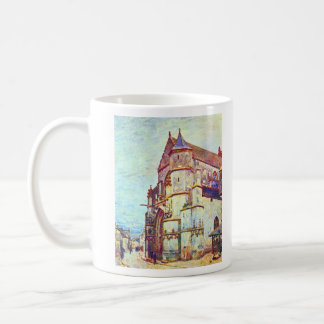 Church of Moret, After the Rain by Alfred Sisley Mugs