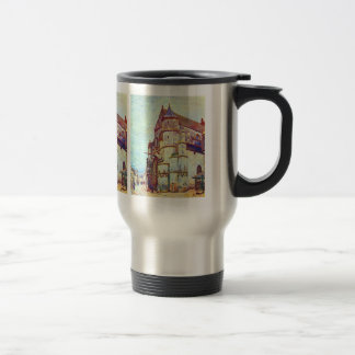 Church of Moret, After the Rain by Alfred Sisley Coffee Mug