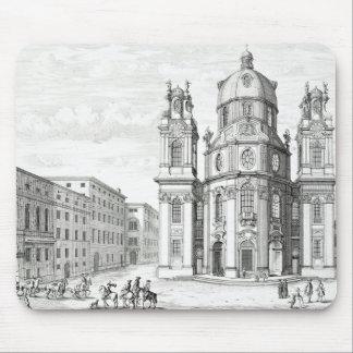 Church of Notre Dame, Salzburg, Austria, from 'Ent Mouse Mat