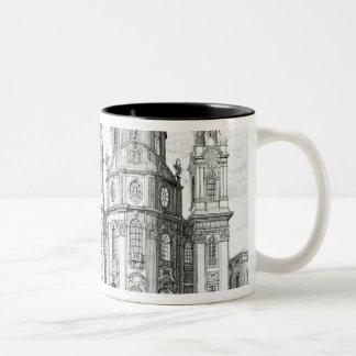Church of Notre Dame, Salzburg, Austria, from 'Ent Two-Tone Coffee Mug