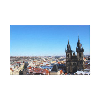 Church of our lady before týn - Prague Canvas Print