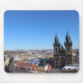 Church of our lady before týn - Prague Mouse Mat