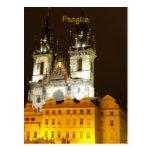 Church of Our Lady before Tyn Prague Postcard