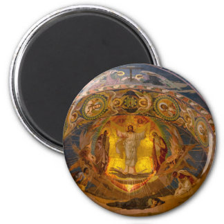 Church of Our Savior on The Spilled Blood 6 Cm Round Magnet