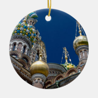 Church of Our Savior on The Spilled Blood Christmas Ornament