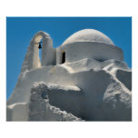 Church of Panagia Paraportiani, Mykonos, Greece Poster